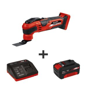 Einhell PXC 18-Volt Cordless Variable-Speed 20,000-OPM Oscillating Multi-Tool Kit (with 3.0-Ah Battery Plus Fast Charger)