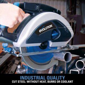 Evolution Power Tools 15-Amp 9 in. Steel Cutting Circular Saw