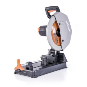 Evolution Power Tools 15 Amp 14 in. Chop Saw with V-Block and Multi-Material 32-T Blade