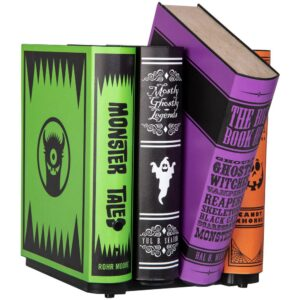 Gemmy Animated Decor-Moving Books-Colorful Monster Tales