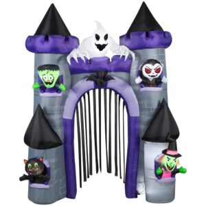Gemmy 9 ft. H Archway-Haunted Castle Halloween Inflatable