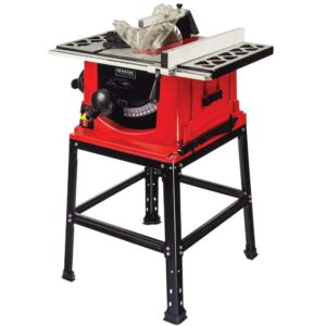 General International 13 Amp 10 in. Table Saw with Stand