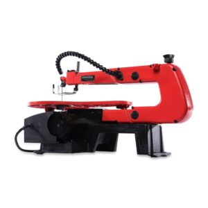General International 1.2 Amp 16 in. Variable Speed Scroll Saw with Flex Shaft LED Work Light