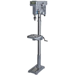 Genesis 6.6 Amp 13 in. 120-Volt 16-Speed Floor Stand Drill Press with Tilt Table, 5/8 in. Chuck and Heavy Cast Iron Base