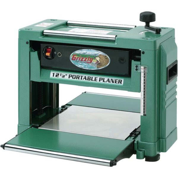 Grizzly Industrial 15-Amp 12-1/2 in. 2 HP Corded Planer