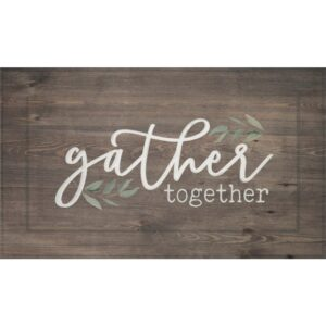 "P Graham Dunn ""Gather Together"" Wood Wall Decor"