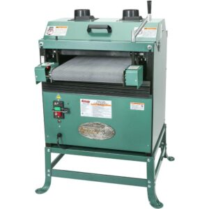 Grizzly Industrial 16 in. 2 HP Drum Sander with Rubber Conveyor