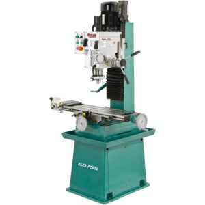 Grizzly Industrial Heavy-Duty Mill/Drill with Stand and Power Feed