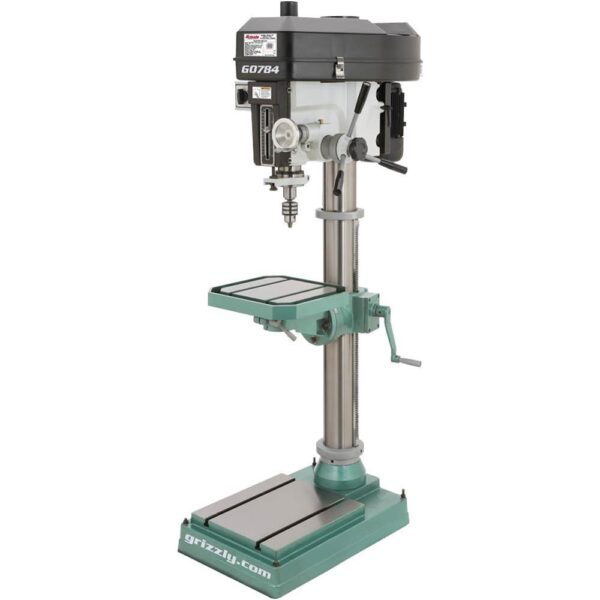 Grizzly Industrial 15 in. Heavy-Duty Floor Drill Press