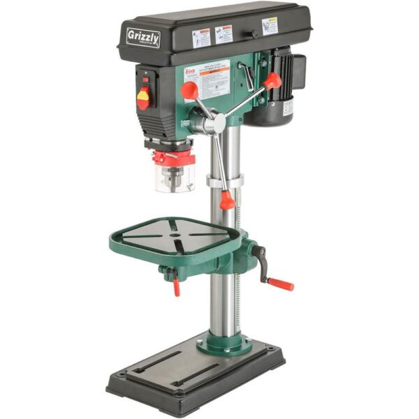 Grizzly Industrial 12 Speed Heavy-Duty Bench-Top Drill Press