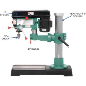 Grizzly Industrial Radial Drill Press