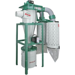 Grizzly Industrial 5 HP Cyclone Dust Collector