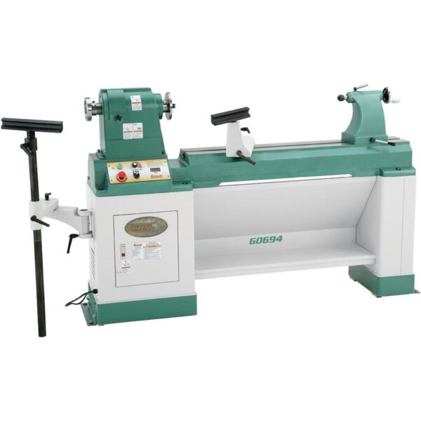 Grizzly Industrial 20 in. x 43 in. Heavy-Duty Variable-Speed Wood Lathe