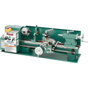 Grizzly Industrial 7 in. x 14 in. Variable-Speed Benchtop Lathe
