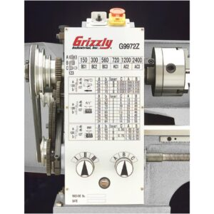 Grizzly Industrial 11 in. x 26 in. Bench Lathe with Gearbox