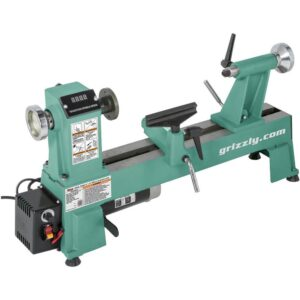 Grizzly Industrial 12 in. x 18 in. Variable-Speed Wood Lathe