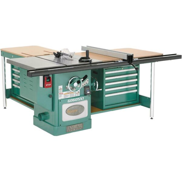 Grizzly Industrial 12 in. 5 HP 220-Volt Extreme Table Saw
