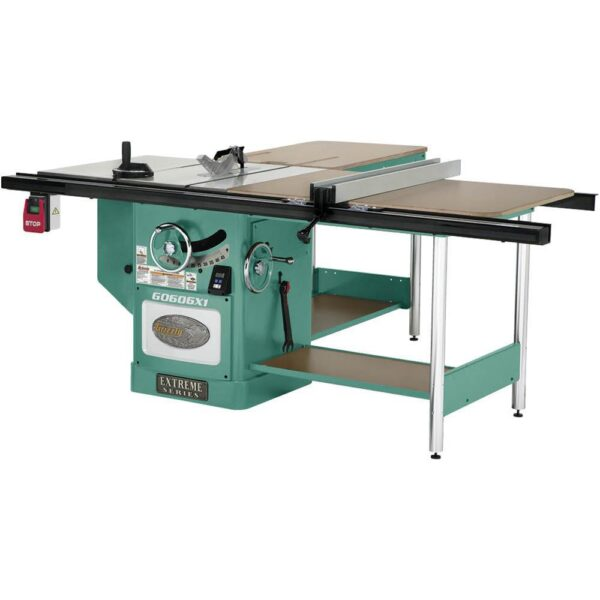Grizzly Industrial 12 in. 7-1/2 HP 3-Phase Extreme Table Saw