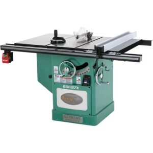Grizzly Industrial 12 in. 7-1/2 HP 3-Phase Extreme Series Left-Tilt Table Saw