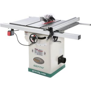 Grizzly Industrial 10 in. 2 HP 120-Volt Hybrid Table Saw with T-Shaped Fence