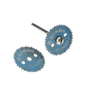 Gyros 7/8 in. Diameter Ripsaw Blade with Mandrel