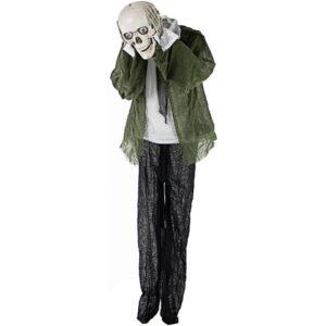 Haunted Hill Farm 5 ft. Animatronic Headless Man Halloween Prop