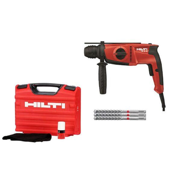 Hilti TE 2-S 120-Volt SDS-Plus Hammer Drill Kit