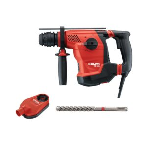 Hilti 120-Volt 8.6 Amp Corded 1-1/8 in. SDS Plus TE 30 AVR Rotary Hammer Drill with TE-CX Drill Bit and DRS-D Kit