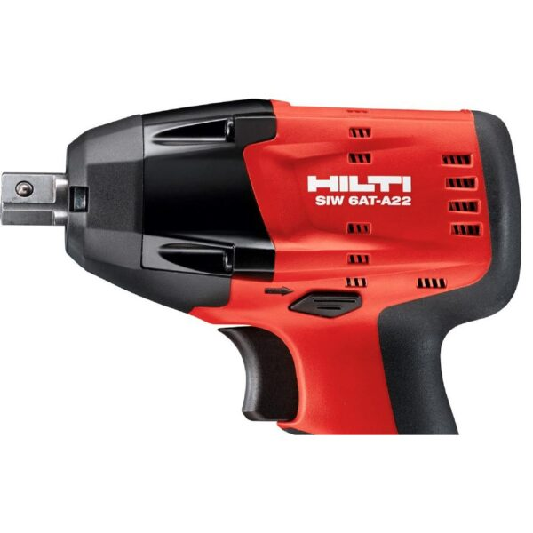 Hilti SIW 6AT-22 Volt Lithium-Ion Cordless 1/2 in. Brushless Impact Wrench with B22/2.6 Battery, Charger and Bag