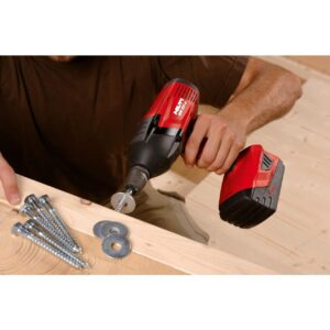 Hilti SIW T-A 22-Volt 1/2 in. High Torque Cordless Impact Wrench Kit with 4.0 Lithium -Ion Battery Pack, Charger and Bag