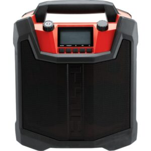 Hilti RC 4/36 120-Volt AM/FM Bluetooth Radio and Battery Charger