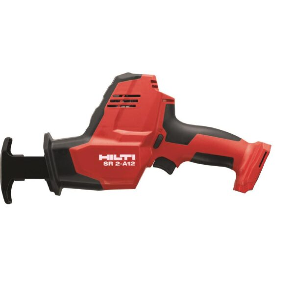 Hilti SR 2-A12 12-Volt Lithium-Ion Cordless Brushless Reciprocating Saw Kit with B 12-Volt/2.6 Ah Battery Pack and Charger