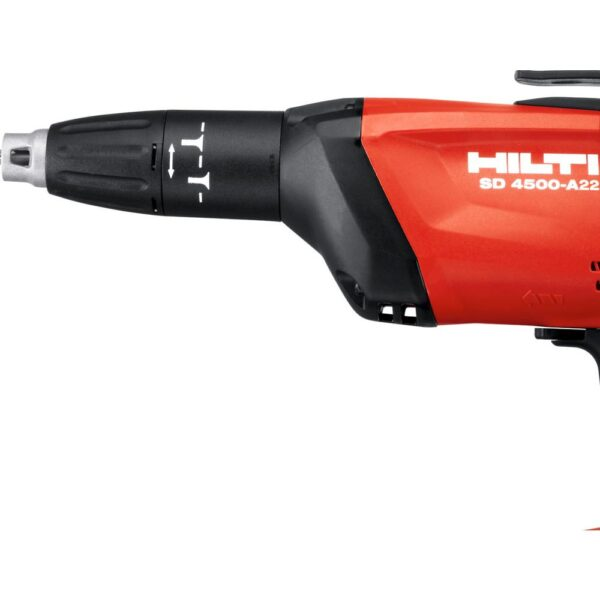 Hilti SD 4500 22-Volt Lith-Ion 1/4 in. Hex Cordless High Speed Drywall Screwdriver Kit with 22/4.0 Batteries, Charger and Bag