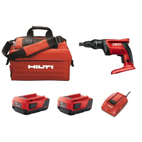 Hilti ST 1800 22-Volt Lithium-Ion 1/4 in. Hex Cordless Adjustable Torque Screwdriver