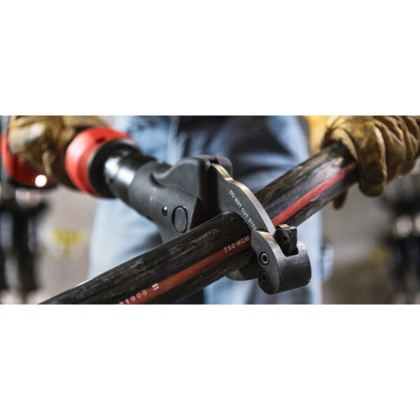 Hilti 22 Volt NCT 53-A Lithium-Ion Cordless Cable Cutter with 2 in. outer diameter (Tool Only)