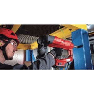 Hilti 22-Volt Lithium-Ion Cordless Bluetooth Nailer with Fastener Guide