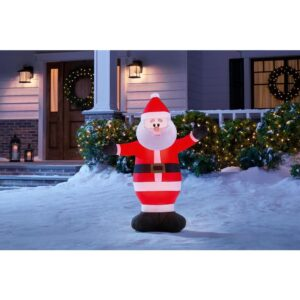 Home Accents Holiday 3.5 ft. Inflatable Santa