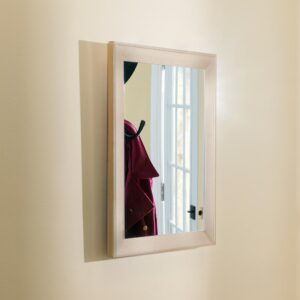 Home Basics Small Rectangle Gold Novelty Mirror (18 in. H x 0.62 in. W)