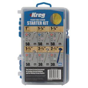 Kreg Pocket-Hole Screw Starter Kit (260-Pack)