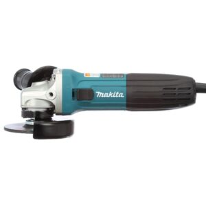 Makita 6 Amp Corded 4 in. Lightweight Angle Grinder with Grinding Wheel, Wheel Guard Side Handle Hard Case