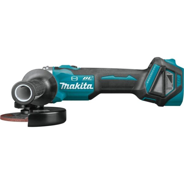 Makita 18-Volt LXT Brushless 4-1/2 in. / 5 in. Cordless Cut-Off/Angle Grinder with Electric Brake (Tool Only)