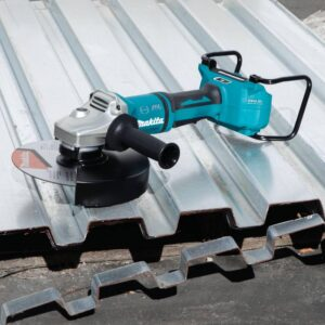 Makita 18-Volt X2 LXT Lithium-Ion 36-Volt Brushless Cordless 9 in. Cut-Off/Angle Grinder with Electric Brake and AWS Tool-Only