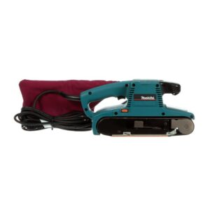 Makita 8.8 Amp 4 in. x 24 in. Corded Variable Speed Belt Sander with Dust Bag