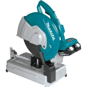 Makita 18-Volt X2 LXT Lithium-Ion 36-Volt Brushless Cordless 14 in. Cut-Off Saw with Electric Brake, 5.0 Ah