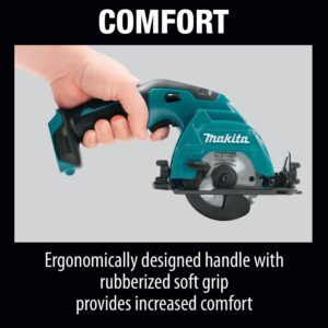 Makita 12-Volt MAX CXT Lithium-Ion 3-3/8 in. Cordless Circular Saw (Tool-Only)