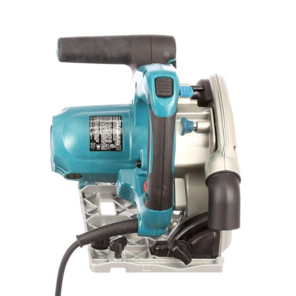 Makita 12 Amp 6-1/2 in. Plunge Circular Saw with Guide Rail Connector Kit