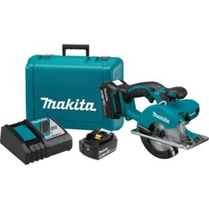 Makita 18-Volt 5.0Ah LXT Lithium-Ion Cordless 5-3/8 in. Metal Cutting Saw Kit