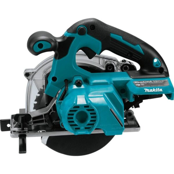 Makita 18-Volt LXT Lithium-Ion Brushless Cordless 5-7/8 in. Metal Cutting Saw with Electric Brake and Chip Collector Tool-Only