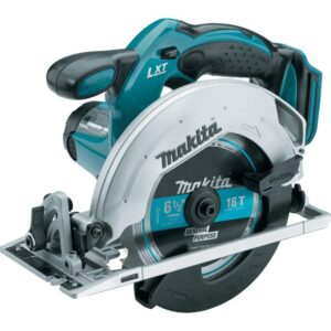Makita 18-Volt LXT Lithium-Ion Cordless 6-1/2 in. Lightweight Circular Saw and General Purpose Blade (Tool-Only)