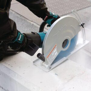 Makita 15 Amp 14 in. Corded SJS Electric Angle Cutter with AC/DC Switch